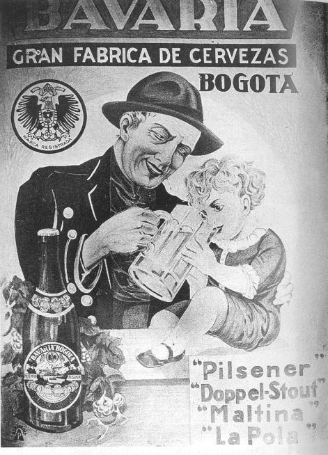 La Bavaria nació en Bogotá, no en Baviera.