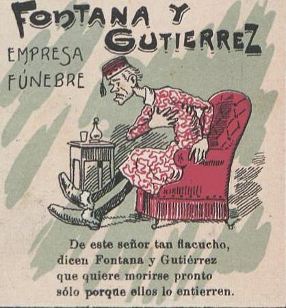 cartel funerario